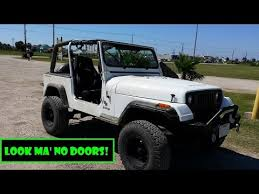 how to take doors a jeep wrangler fast how to take jeep wrangler doors remove jeep wrangler