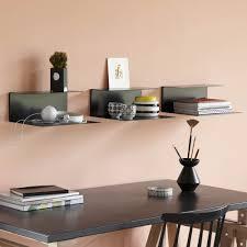 designer wall shelves el wall wall shelf black konstantin slawinski designers avenue