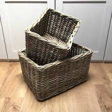 white willow picnic basket hamper for 2 people u2013 cowshed interiors
