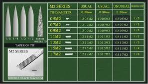 tattoo needle for thin lines 5pcs professional sterilized flat shader tattoo needles 4f tmart