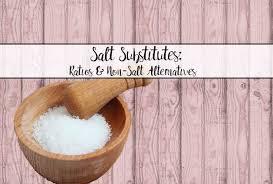 ratio kosher salt to table salt salt substitutes conversion ratios for types of salt and salt