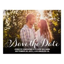 What Is The Date For Thanksgiving 2015 Old Photo Save The Date Postcard Zazzle Com