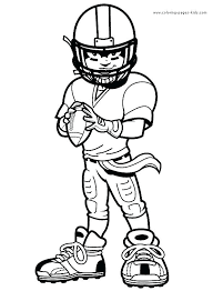 Football Coloring Pages For Kids Printable Keeper Coloring Page Coloring Pages For Boys And Printable