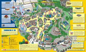 Universal Orlando Maps by 65 000 Oops Jurassicpark