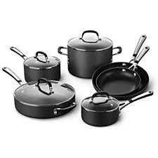 black friday pots and pans set amazon com calphalon contemporary hard anodized aluminum nonstick
