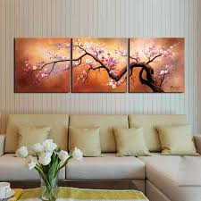 the lighting plum blossom 310 hand painted 3 piece gallery