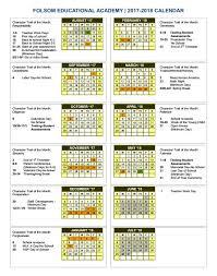 calendar folsom educational academy