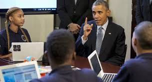 Seeking Obama Seeking Coders Tech Turn To Schools Politico