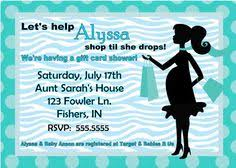 gift card shower invitation gift card shower invitations 1 00 each like the wording bridal