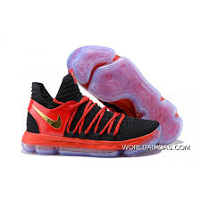k d new style nike kd 10 black university red metallic gold price