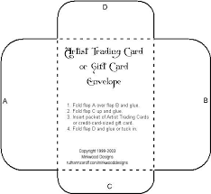 printable gift cards gift card envelope template template idea