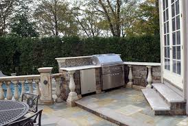 Outside Kitchen Designs Pictures Bbq Outdoor Kitchens Nj Built In Grill Fireplace Design Ideas