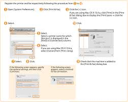 yosemite how to add canon printer that works on windows machines