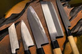 Good Kitchen Knives Set Lefted 5 Kitchen Knife Set Standard