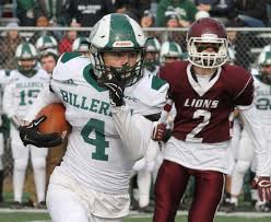 billerica vs chelmsford thanksgiving day football the sun lowell