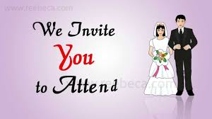 video wedding invitation idea being married theme whatsapp