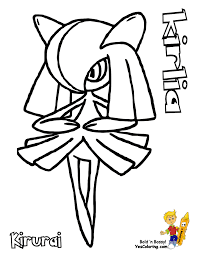 ralts pokemon coloring pages images pokemon images
