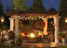 Backyard Lights Ideas Garden Design Garden Design With Backyard Wedding Reception