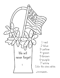 memorial day coloring pages the sun flower pages