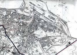 Edinburgh Map Edinburgh Map Leith 1915 Enlarged