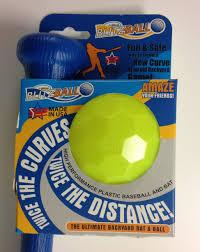 blitzball gamemaster backyard plastic baseball bat u0026 ball combo