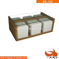 Display Case Coffee Table by Glass Coffee Table Ottoman Glass Coffee Table Ottoman Suppliers