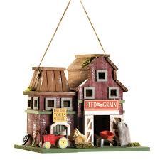 birdhouse home decor amazon com gifts u0026 decor country farmstead rustic barnyard