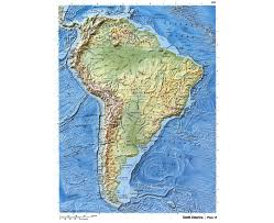 South America Map Physical by Maps Of South America And South American Countries Political