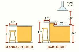 standard kitchen island size kitchen island size guidelines vinok club