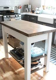 petit plan de travail cuisine fabriquer un îlot de cuisine 35 idées de design créatives ilot de
