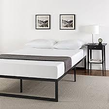 amazon com zinus modern studio 14 inch platforma bed frame