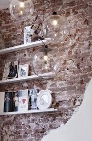 Wandgestaltung Wohnzimmer Mit Beleuchtung Die Besten 25 Steinwand Wohnzimmer Ideen Auf Pinterest Tv Wand