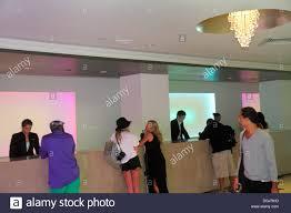 Reception Desk Miami Miami Florida Collins Avenue Fontainebleau Miami Hotel