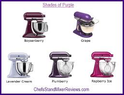 kitchenaid mixer colors a purple kitchenaid mixer is a royally great choice chefs stand