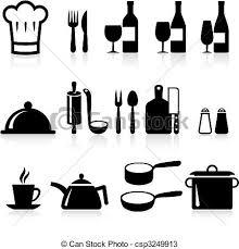 icone cuisine articles cuisine collection icône vecteurs search