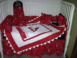 Hockey Bedding Set Decoration Hockey Crib Bedding Set New St Cardinals Nursery