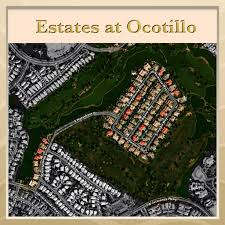 Chandler Arizona Map by The Estates At Ocotillo In Chandler Arizona