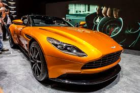orange aston martin geneva 2016 aston martin db11