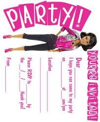 barbie birthday invitations all free printable pinterest