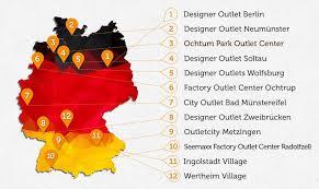 designer outlet berlin fabrikverkauf outlets in deutschland 2017 alle fabrikverkäufe auf einer karte