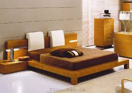 Contemporary Platform Bed Complete The Bedroom With Contemporary Bed Frame
