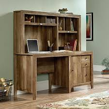 Computer Desk With Hutch Sauder Dakota Pass Craftsman Oak Desk With Hutch 420410 The Home