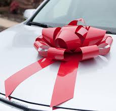 big bow for car present diy duct gift bow sea lemon big velvet bows