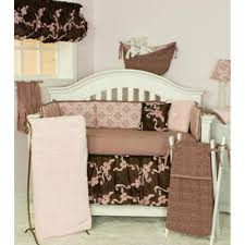 Jojo Baby Bedding Impressive Brown And Pink Baby Bedding Magnificent Home Decoration