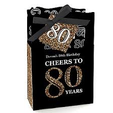 80th Birthday Party Decorations 80th Birthday Gold Birthday Party Theme