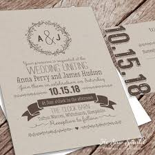 wedding invitations packages printable wedding invitation packages matik for