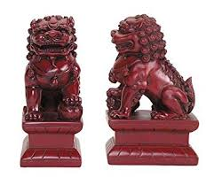 small foo dogs temple lions foo dogs asian feng shui