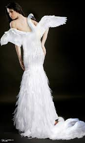 swan dress nicer than the one bjork wore to the emmys that year