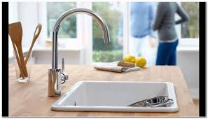 grohe concetto kitchen faucet stainless steel sink and faucet