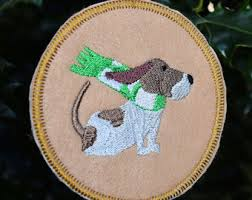 basset hound ornament etsy